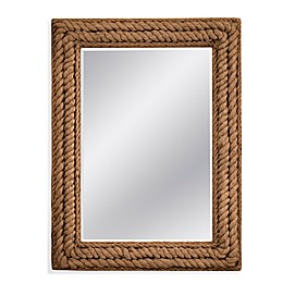 Bassett Mirror Company Summerville 37-Inch x 49-Inch Rectangular Wall Mirror in
