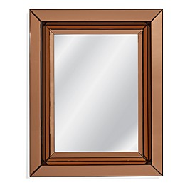 Bassett Mirror Company Hollywood Glam 40-Inch x 50-Inch Rectangle Ashton Wall Mirror