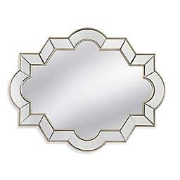 Bassett Mirror Company 40-Inch x 3-Inch Azusa Wall Mirror in Champagne