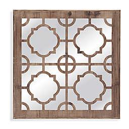 Bassett Mirror Company 20-Inch x 20-Inch Conan Wall Mirror in Wood