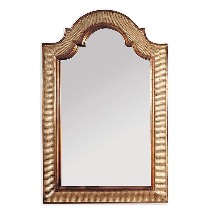 Alternate image 1 for Bassett Mirror Company™ Old World Excelsior 28-Inch x 45-Inch Wall Mirror in Silver/Gold