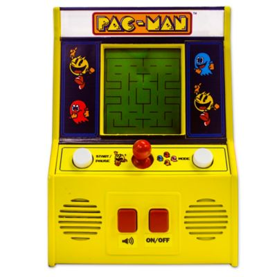 Pac Man Handheld Mini Arcade Game Bed Bath Amp Beyond