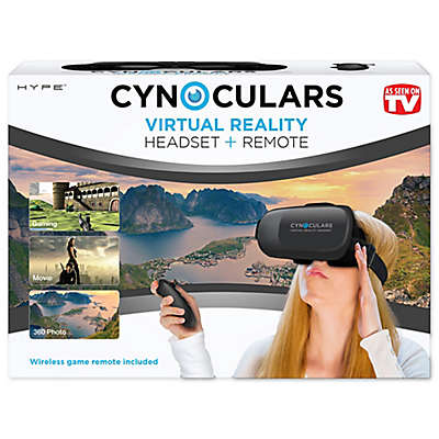 Cynoculars Virtual Reality Headset and Remote