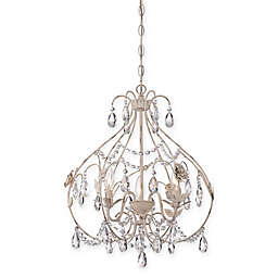 Minka Lavery® Provencal Blanc 3-Light Mini-Chandelier
