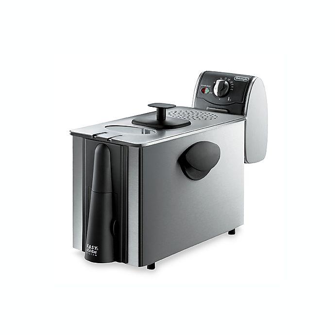 Alternate image 1 for De'Longhi Dual Zone Stainless Steel Deep Fryer