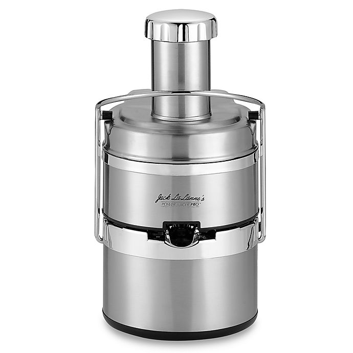 Jack Lalanne Stainless Steel Power Juicer Pro Bed Bath And Beyond