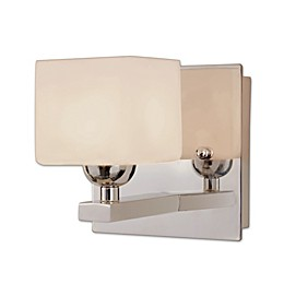 Bel Air Opal Cube Wall Sconce