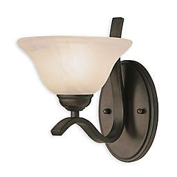 Bel Air Hollyslope Wall Sconce in Oil-Rubbed Bronze