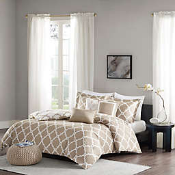 Madison Park Merritt Reversible Duvet Cover Set