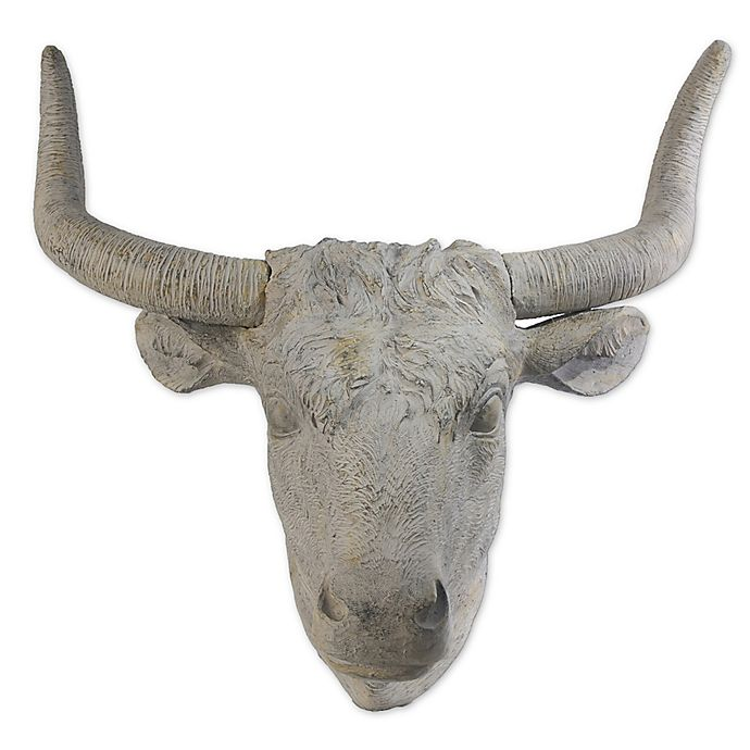 Alternate image 1 for A&B Home Angus Horned 31.5-Inch x 30-Inch Wall Accent