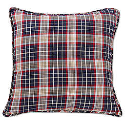 HiEnd Accents South Haven European Pillow Sham in Red
