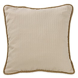 HiEnd Accents South Haven Knitted European Pillow Sham in White
