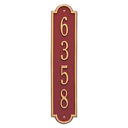 Whitehall Products Richmond 1-Line Vertical Wall Plaque