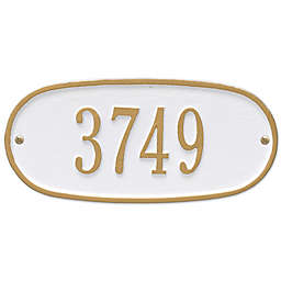 Whitehall Products Oval 1-Line Standard Wall Plaque