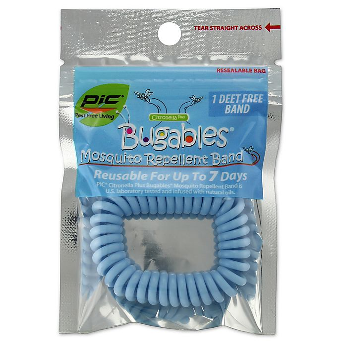 Bugables Coil Reusable Mosquito Repellent Wristband Bed Bath