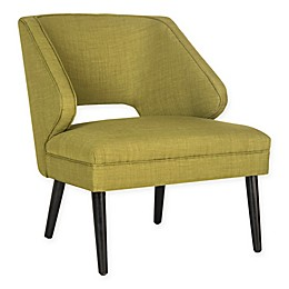 Safavieh Duffy Accent Chair in Sweet Pea