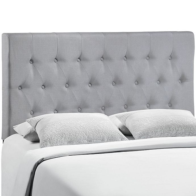 Alternate image 1 for Modway Clique Queen Headboard in Grey