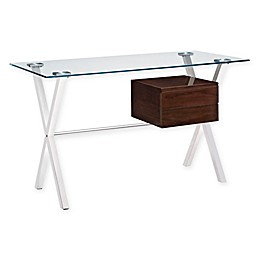 Modway Stasis Writing Desk with Accent Drawer