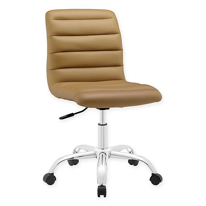 Alternate image 1 for Modway Ripple Mid-Back Office Chair in Tan