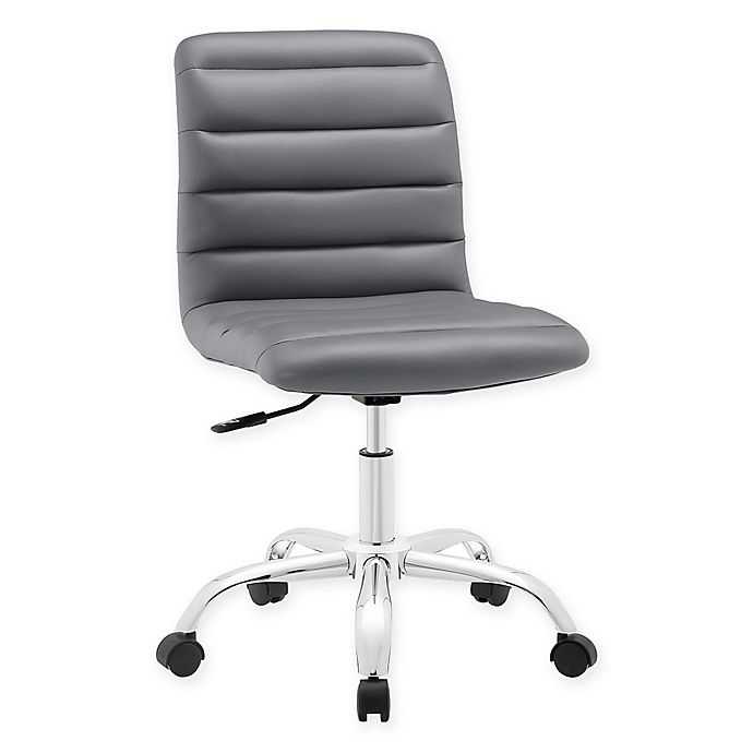 Alternate image 1 for Modway Ripple Mid-Back Office Chair in Grey