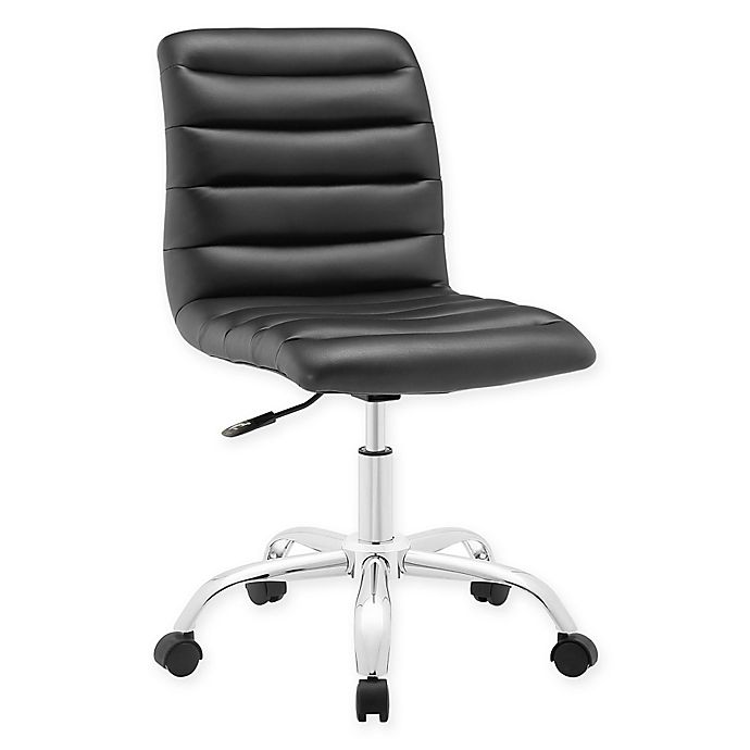 Alternate image 1 for Modway Ripple Mid-Back Office Chair in Black