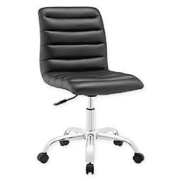 Modway Ripple Mid-Back Office Chair in Black