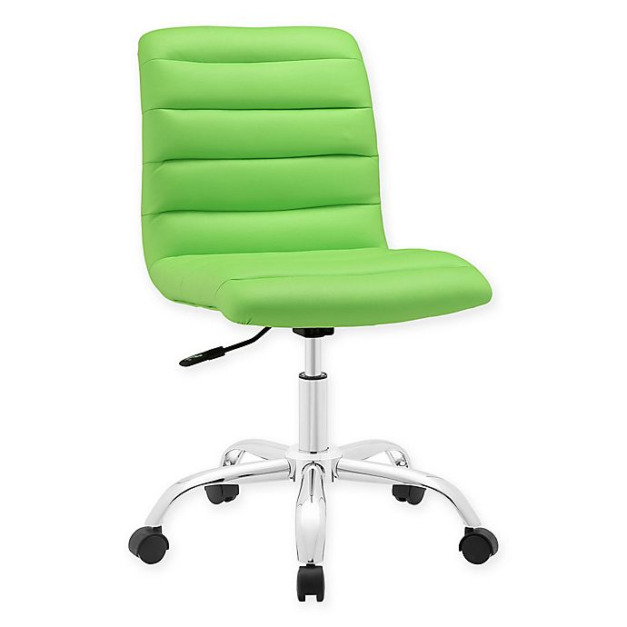 Alternate image 1 for Modway Ripple Mid-Back Office Chair in Lime Green