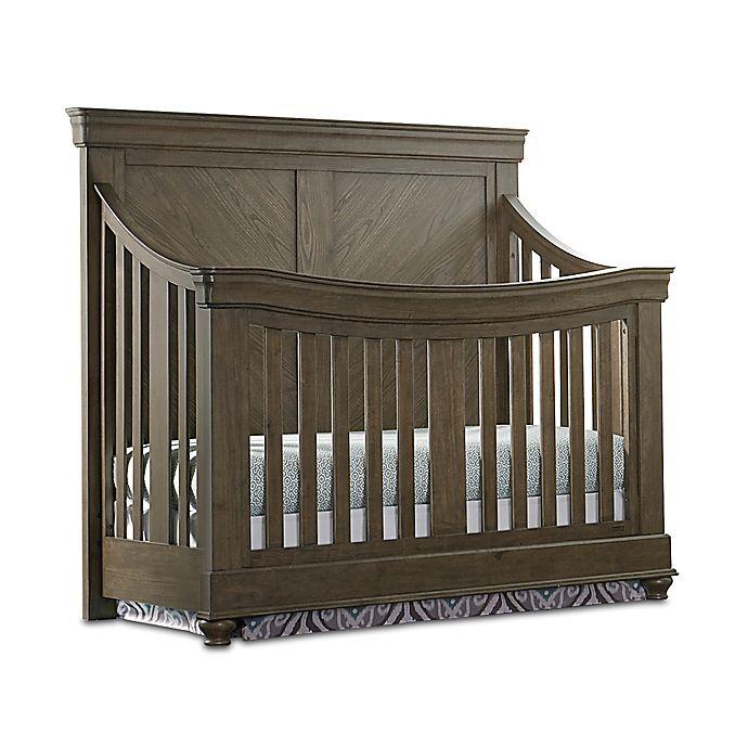 Alternate image 1 for Bassettbaby® Premier Parker 4-in-1 Convertible Crib in Cobblestone