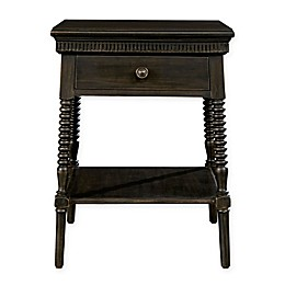 Stone & Leigh™ Smiling Hill Bedside Table in Licorice Black