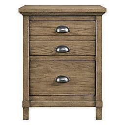 Stone & Leigh by Stanley Furniture Driftwood Park 2-Drawer Night Stand in Sunflower Seed