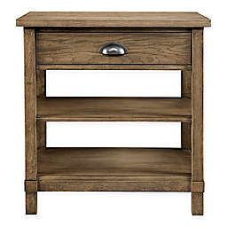 Stone & Leigh by Stanley Furniture Driftwood Park Bedside Table in Sunflower Seed