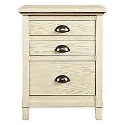 Stone & Leigh by Stanley Furniture Driftwood Park 2-Drawer Night Stand in Vanilla Oak