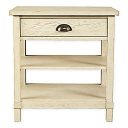 Stone & Leigh by Stanley Furniture Driftwood Park Night Stand in Vanilla Oak