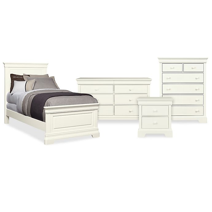 Stone Leigh By Stanley Furniture Teaberry Lane Bedroom Collection In Stardust White