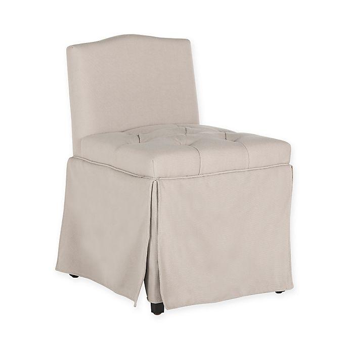Miraculous Safavieh Betsy Vanity Chair Bed Bath Beyond Machost Co Dining Chair Design Ideas Machostcouk