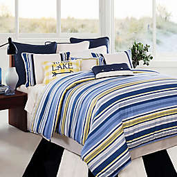 HiEnd Accents Beaufort Comforter Set in Navy