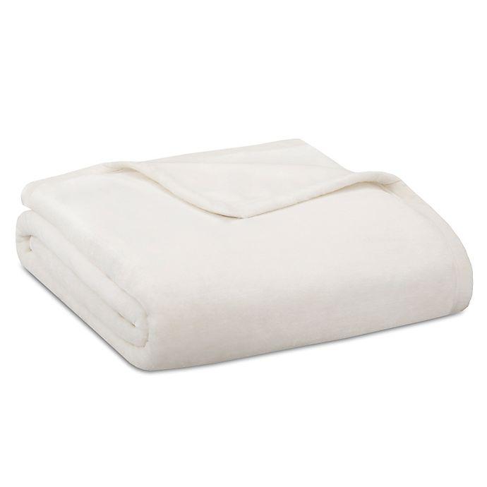 Alternate image 1 for Madison Park Ultra Premium Plush Full/Queen Blanket in Ivory