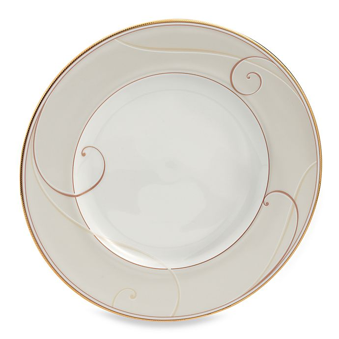 Alternate image 1 for Noritake® Golden Wave Accent Plate