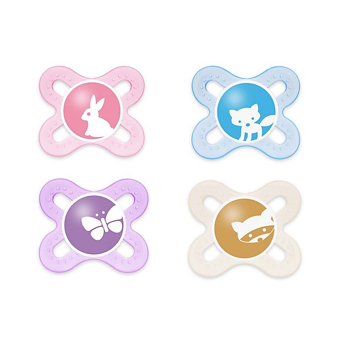 Alternate image 1 for MAM Start Tender Newborn 2-Pack Pacifiers