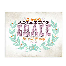 "GreenBox Art Murals That Stick ""Amazing Grace"" 35-Inch by 28-Inch Wall Art"