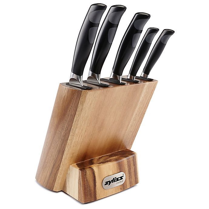 Zyliss Control 6 Piece Knife Block Set