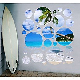 GreenBox Art Day In Paradise Portal Wall Stickers