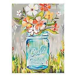 GreenBox Art® Ball Perfect Mason Jar Wall Art