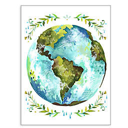 GreenBox Art® Dear Earth Wall Art