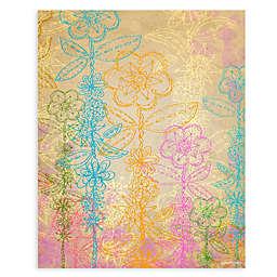 GreenBox Art® Flower Stalker 28-Inch x 35-Inch Wall Art