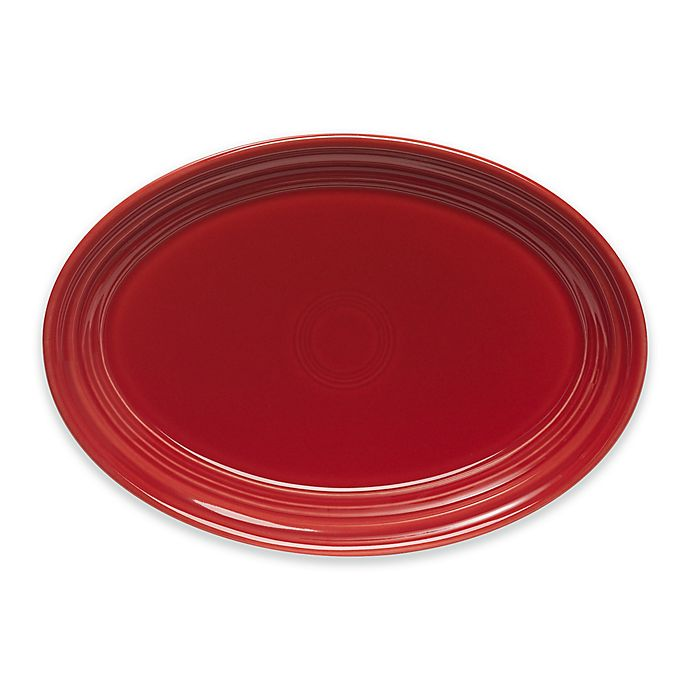 Alternate image 1 for Fiesta® 9.6-Inch Oval Platter in Scarlet