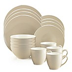 Thomson Pottery Liane Angora 16-Piece Dinnerware Set