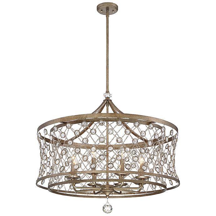 Alternate image 1 for The Metropolitan® Vel Vatena 4-Light Ceiling Pendant