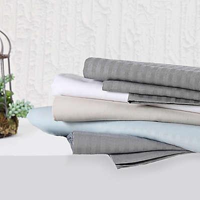 Brooklyn Loom 300-Thread-Count Yarn Dyed Sheet Set