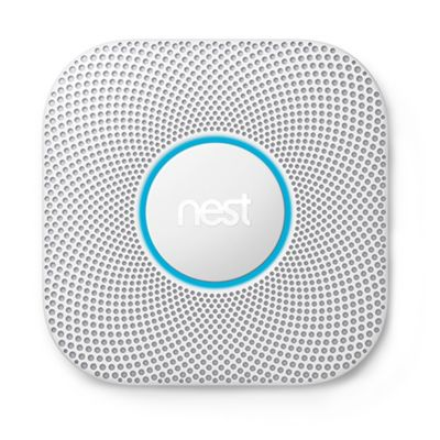 Google – Nest Protect 2nd Generation (Battery) Smart Smoke/Carbon Monoxide Alarm